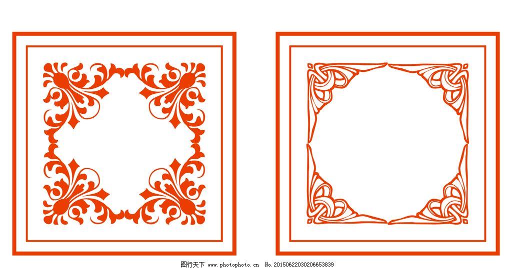 欧式花纹 欧式角花 角花矢量图 角花图片 欧式花纹底图 花纹背景 雕刻图片