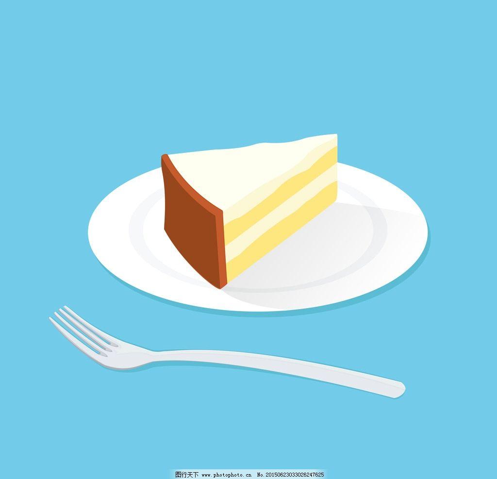 卡通高清三明治蛋糕图片图片