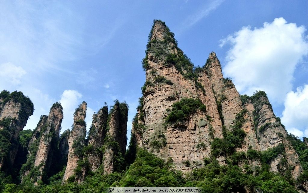 张家界 武陵源风景 自然风景 武陵源 国家森林公园 摄影 旅游摄影