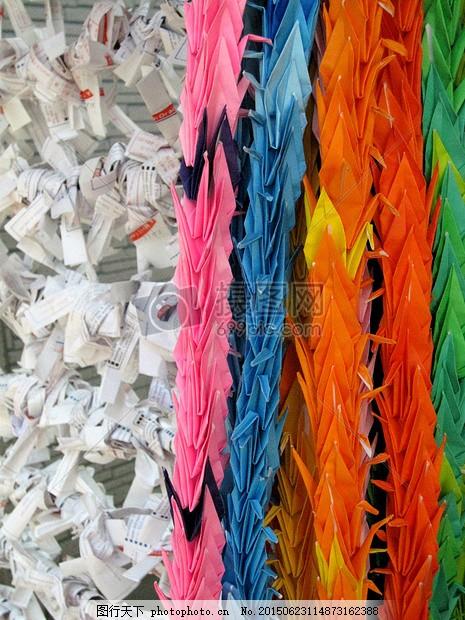 五彩折纸千纸鹤