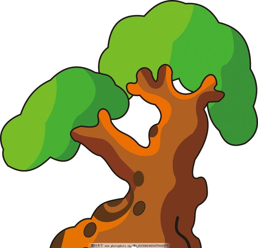 大树 卡通树 矢量树图片