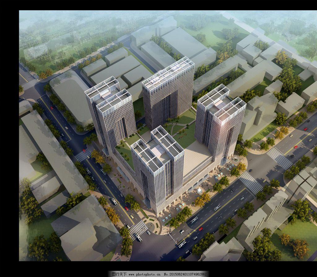高层俯视图免费下载 俯视 高层 建筑      建筑      俯视 高层 装饰