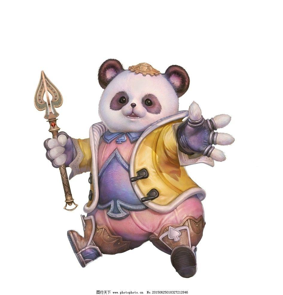 学画熊猫的步骤