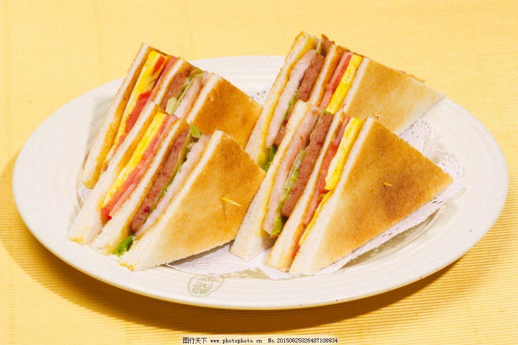 下午茶专属的美味三明治
