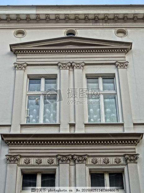 蓝天下的城堡 比得哥什 壁柱 结构 窗口 立面 建设蓝天 窗户