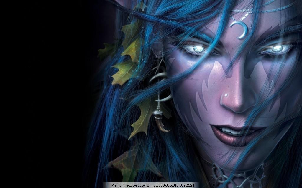 魔兽世界暗夜精灵高清壁纸下载