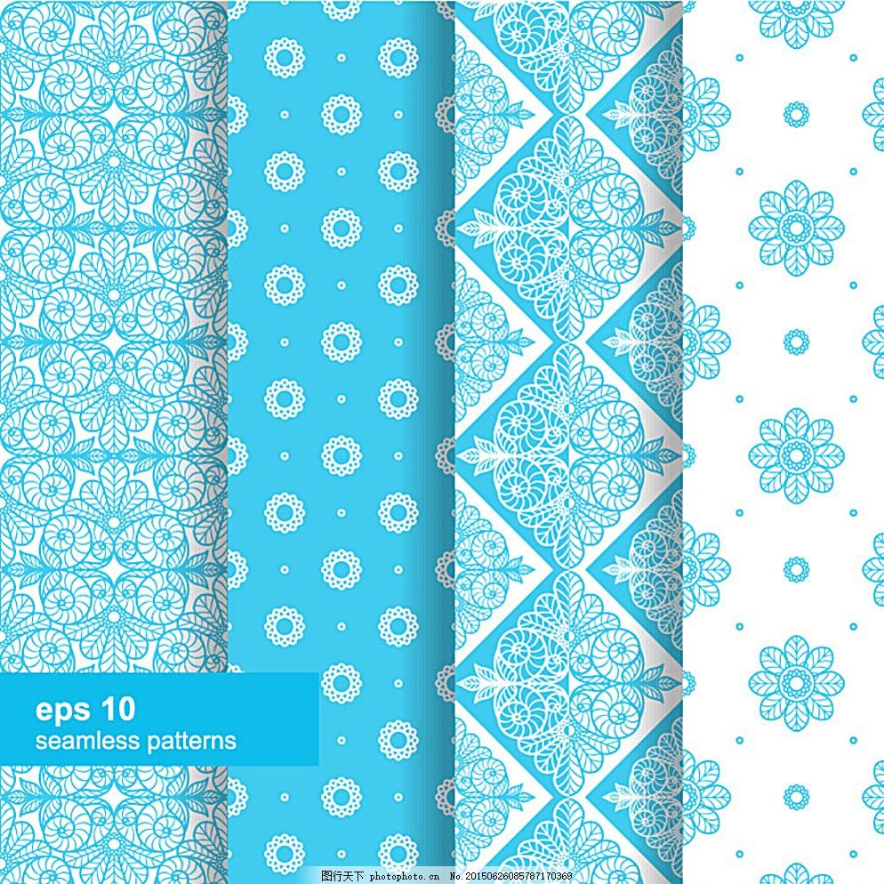 欧式花纹底纹 装饰线条元素 欧式 花纹 欧式背景 无缝 欧式底纹 欧式