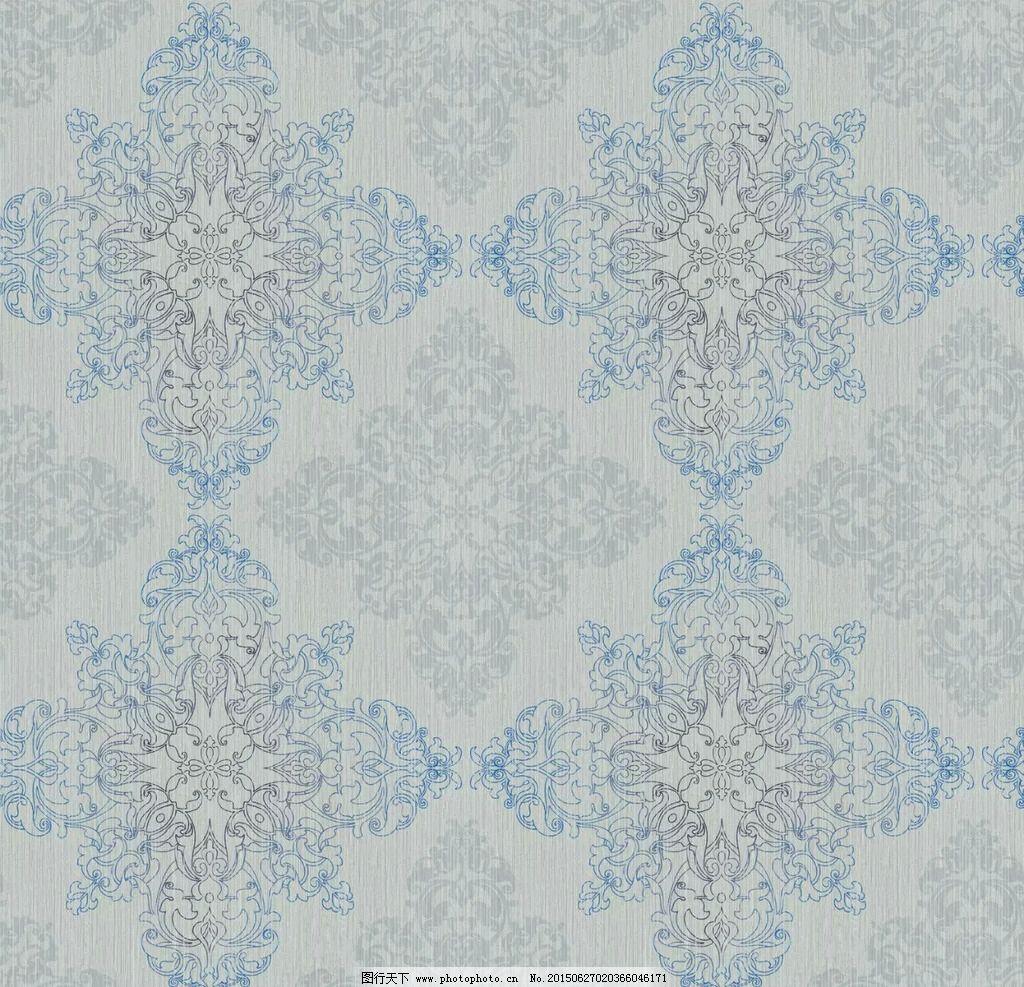 欧式 简约 花 壁纸 墙纸 花边 菱形花 壁纸 设计 底纹边框 花边花纹图片