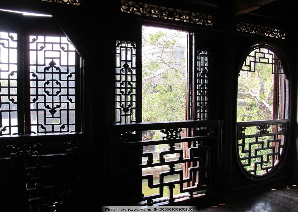 古风窗户图片