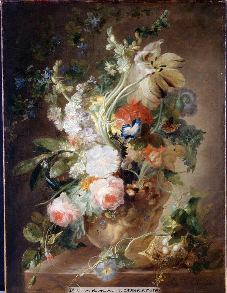 花卉 鲜花 装饰画 无框画