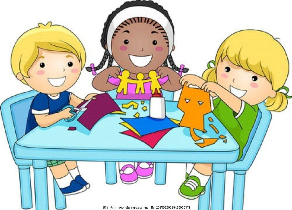 卡通人物 卡通 玩耍 儿童 设计 矢量素材 孩子 人物设定 游戏 快乐