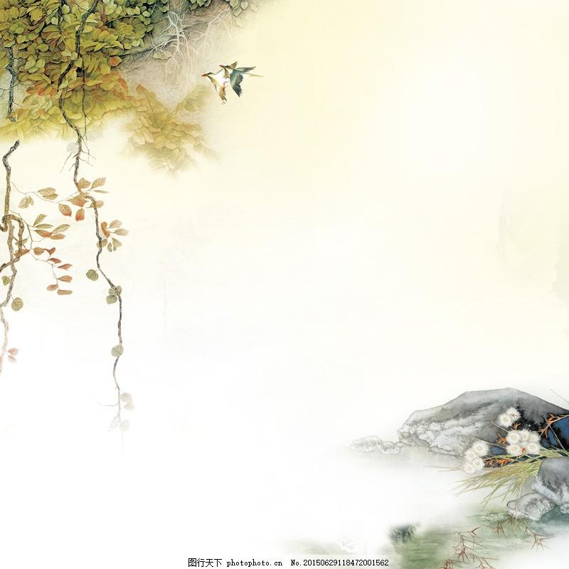 中国风手绘背景