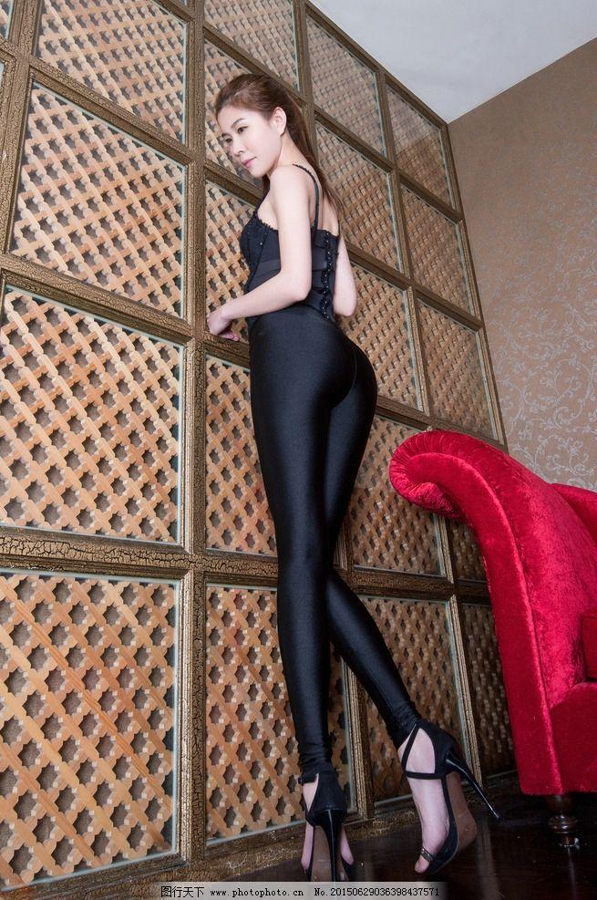 黑丝袜 肉丝 身材 高挑 美女 高清 丝袜 beautyleg 美腿模特 台湾腿模