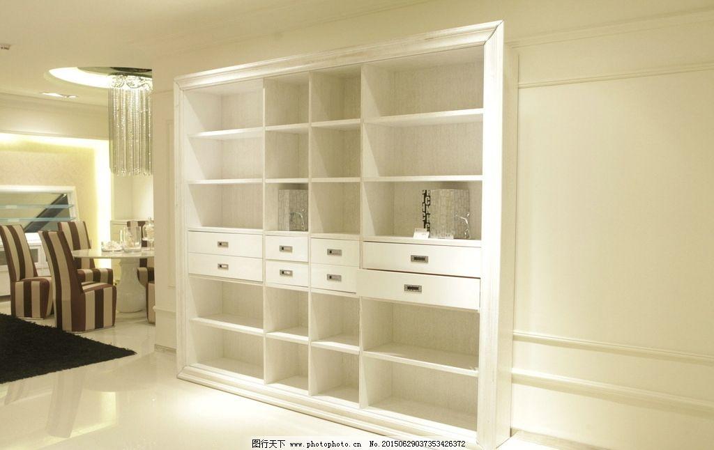 简欧式家具图片柜子
