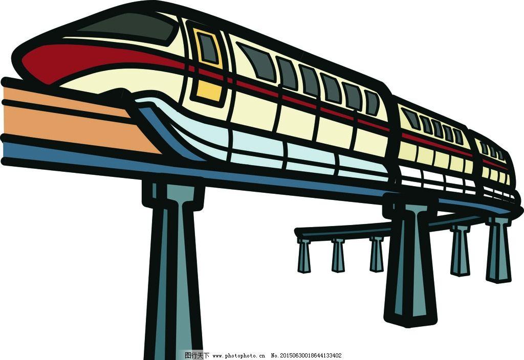 火车 简笔画 矢量图 儿童 玩具 动漫动画