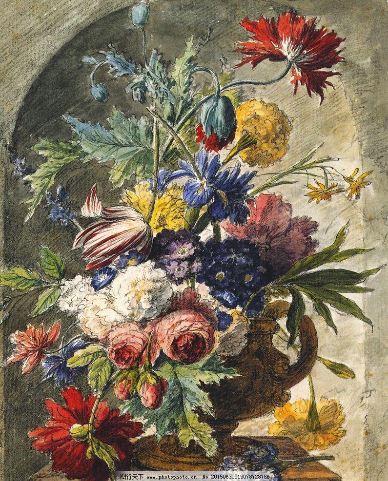 花卉 鲜花 装饰画 无框画 欧式油画 唯美 油画艺术 古典油画 写实油画 绘画 艺术 油画静物 设计 文化艺术 绘画书法 33DPI JPG