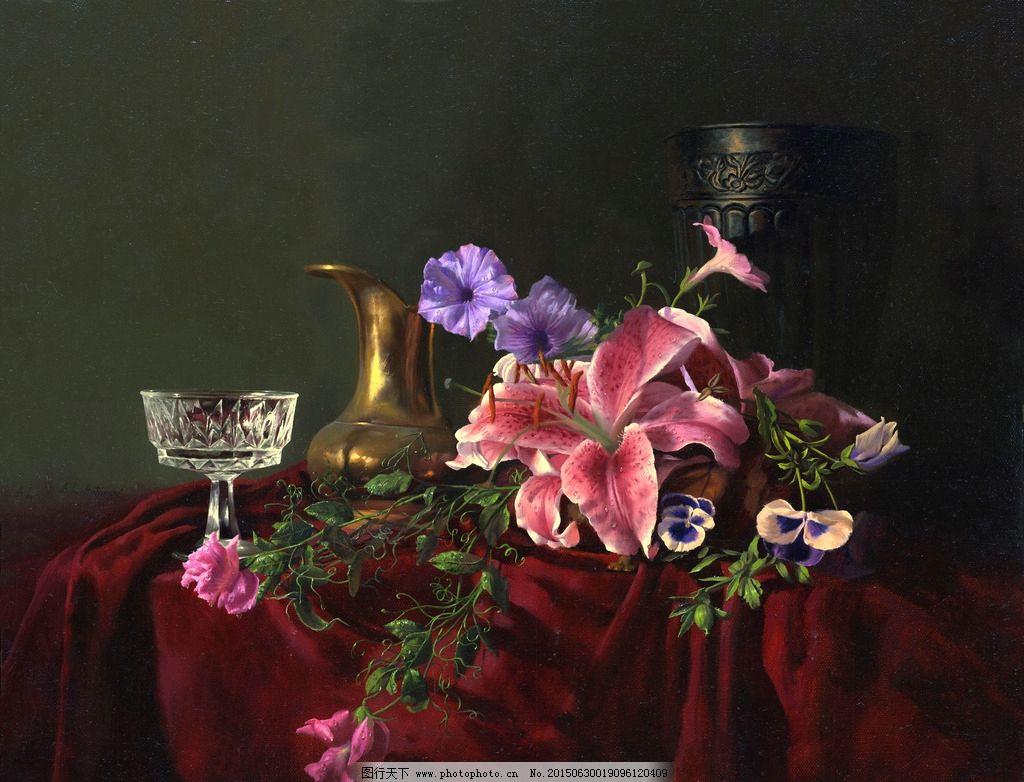 欧式油画 唯美 油画艺术 古典油画 写实油画 绘画 艺术 油画静物 设计