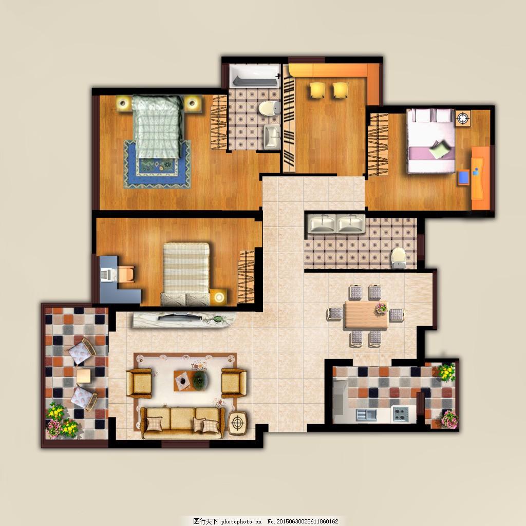 室内平面布置图
