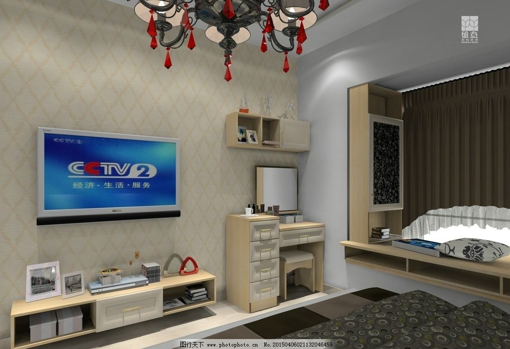 豪华主卧,飘窗设计,现代简约,卧室,3D设计,3D作品,72DPI