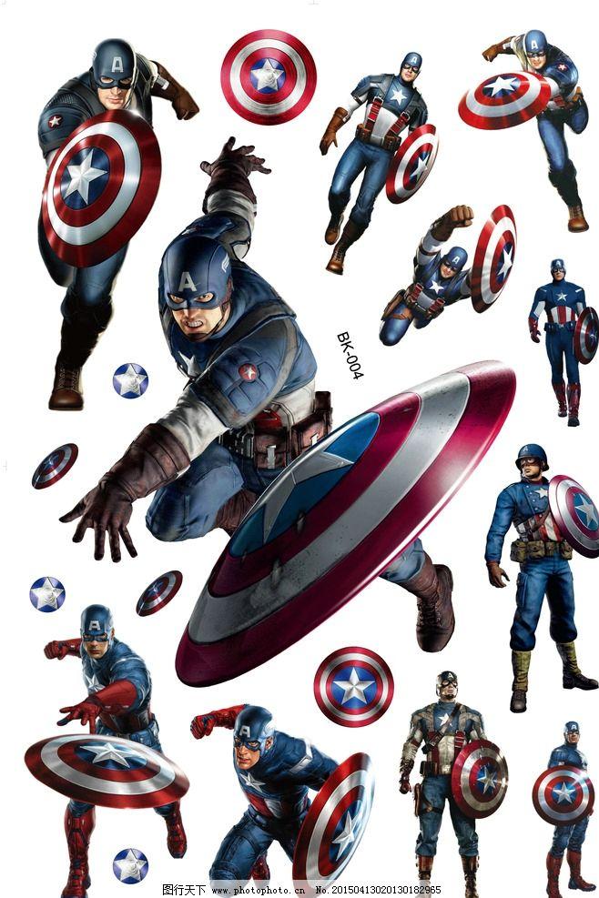美国,队长,盾牌,飞盾,蒙面,电影,墙贴